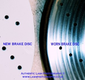 THERE ARE 5 MAIN WARNING SIGNS THAT INDICATE YOUR BRAKES ARE WORN or DAMAGED :- 1 - A HIGH PITCHED or GRINDING NOISE - when you apply the brakes. (some pads have warning indicators that make this sound to alert the driver when the friction material is low.) 2 - AN UNUSUAL VIBRATION DURING BRAKING (this normally indicates a warped brake disc which has the potential to lead to a loss in brake performance.) 3 - THE BRAKE PEDAL FEELS SOFTER TO PRESS THAN USUAL. (air or moisture may have contaminated the brake fluid causing extended pedal travel) 4 - THE DISTANCE IT TAKES FOR THE CAR TO SLOW DOWN or COME TO A COMPLETE STOP DURING BRAKING HAS INCREASED. (worn brake pads & discs can result in an increase stopping distance during braking) 5 - THE VEHICLE PULLS TO ONE SIDE WHEN BRAKING. (sticking calipers can cause the vehicle to pull to one side & lead to a reduction in braking performance.)