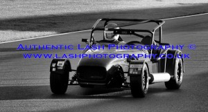 vintage track day car -on racing track - lash photography image