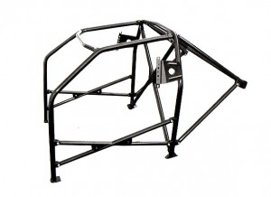 bmw e46 roll cage on white background
